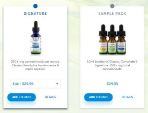Bluebird Botanicals Hemp/CBD Oil Full-Spectrum Extracts