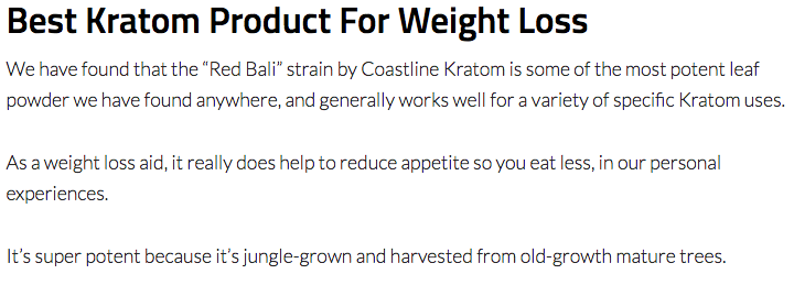 Best Kratom Strains For Losing Weight – A Complete Guide