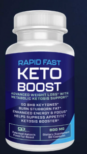 ultra fast keto boost bottle